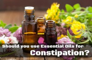 Should You Use Essential Oils For Constipation?